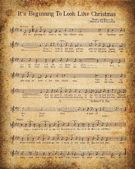 free printable vintage christmas sheet music 8 best images of old christmas sheet music printables