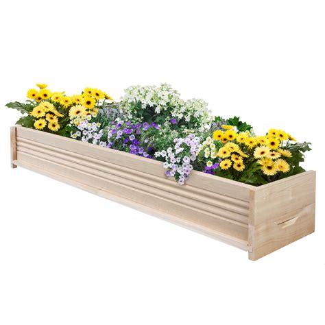 greenes fence companygreenes cedar patio planter box 48
