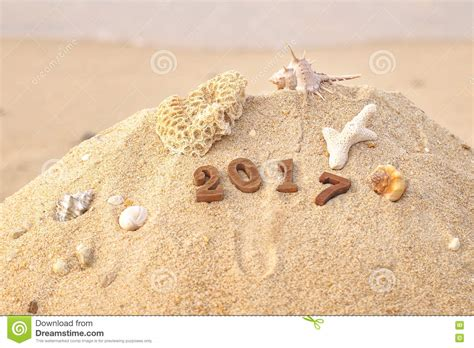 thailand new year background royalty wood number 2017 on background idea stock photo