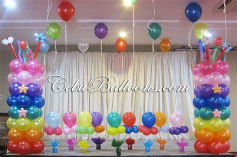 Balon Dekor rainbow cebu balloons and supplies