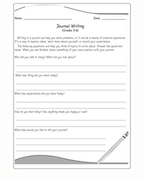 printable journal writing worksheets journal writing journal writing prompts for kids jumpstart