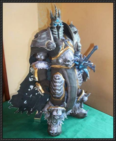 Wow Papercraft - papercraftsquare new paper craft world of warcraft