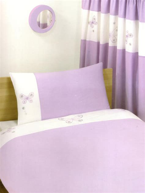 duvet cover butterfly lilac king size embroidered duvet cover and 2 pillowcases bedding review