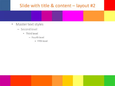 colorful pixel template for powerpoint
