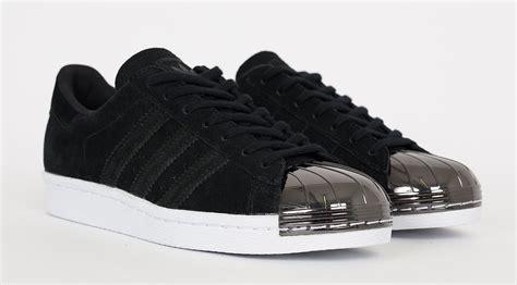 adidas superstar  metal toe black sneaker bar detroit