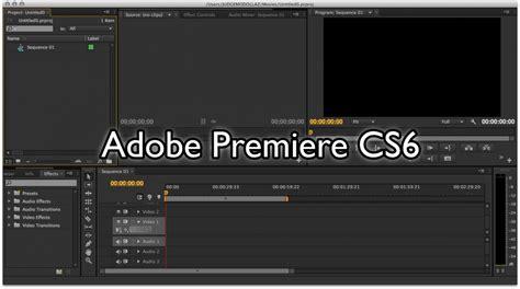 adobe premiere cs6 review software review adobe premiere cs6 final cut pro x