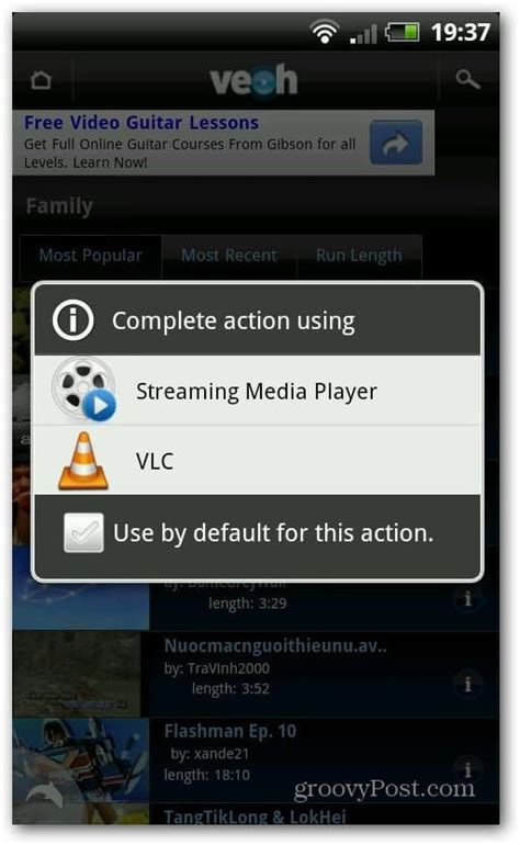 vlc media player for android vlc for android beta the screenshot tour
