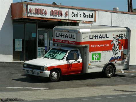 Trucker U u haul truck u haul toyota truck of early 1990s vintage in flickr