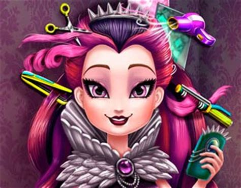 real haircuts games ever after high play free raven queen real haircuts