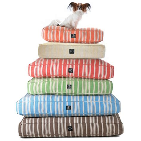 harry barker dog bed harry barker hemp striped dog bed eco friendly dog beds