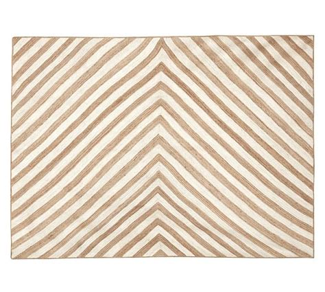 Chevron Stripe Jute Rug Pottery Barn Pottery Barn Striped Rug