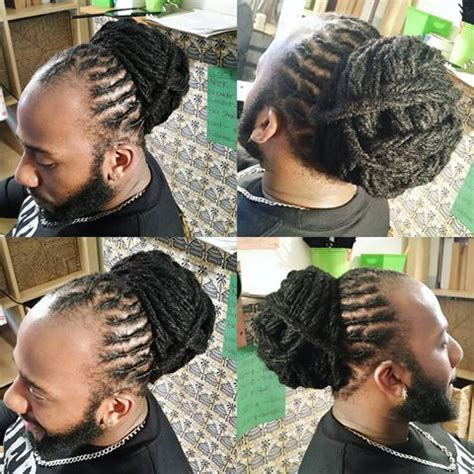 loc bun for men 162 best images about locs locs locs on pinterest dreads