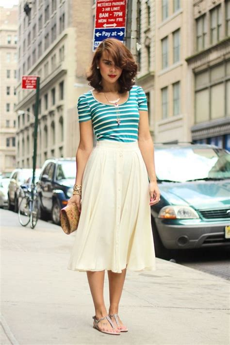 Wedges Flowy Pleated Skirt Rok Import fashion advantages of being the summer and skirts