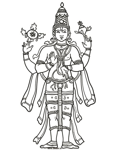 shiva coloring simple coloring pages