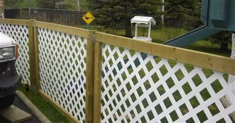 Design For Lattice Fence Ideas Inexpensive Privacy Fence Design Ideas 16 Wartaku Net
