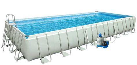 piscine tubulaire rectangulaire 440 piscine tubulaire pas cher rectangulaire ou ronde achat