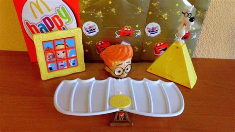 Mister Peabody And Sherman Set Happy Meal Mc Donalds Mcd Mekdi Murah 2014 mr peabody sherman mcdonald s happy meal toys unboxing