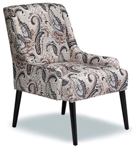printed fabric accent chair armchairs and accent chairs