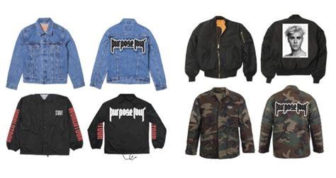 Jaket Jumper Sweater Hoodie Arema 5 justin bieber unveils purpose world tour merch upscalehype