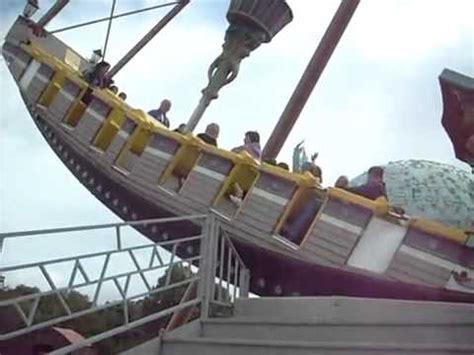 swing boat loudoun castle theme park