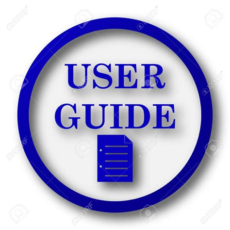 user guide icon free icons