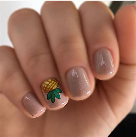 number 1 summer nails pineapple nails pinterest pineapple nails makeup