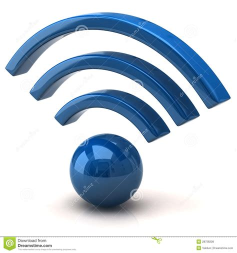 Wifi Wifi blue wifi icon stock illustration image of connection 28758208