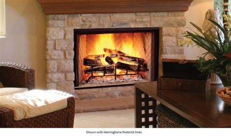 monessen biltmore radiant wood burning fireplace with