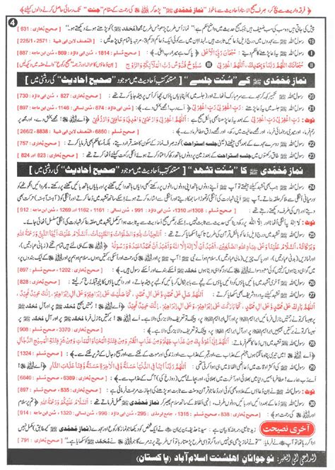 Zephaniah The Prophet Research Paper by Complete Namaz Of The Prophet Muhammad Saw Islamghar