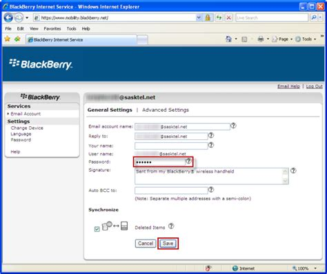 resetting your blackberry id password support sasktel validating your email password for blackberry support