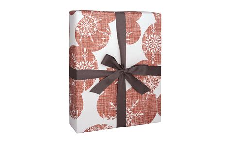 holiday gift wrap bulk christmas wrapping paper snowflakes