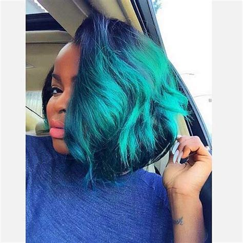 Blue New Hairstyle by New Bobs For Black Bob Hairstyles 2017