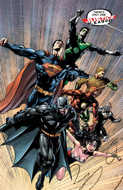 justice league of america 1 by geoff johns and david
