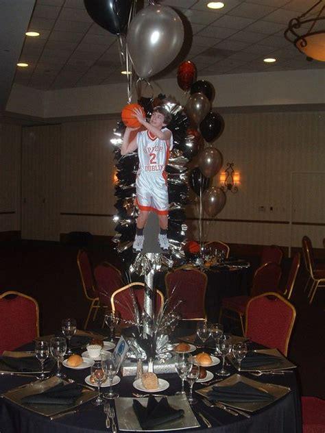 banquet centerpieces basketball banquet centerpiece