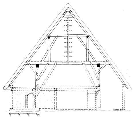 scheune mittelalter die scheune des klosterplans cus galli