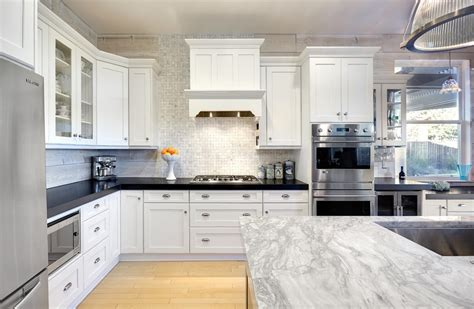 white cabinets black granite countertops innovative black granite countertops look other metro traditional kitchen decorating ideas with