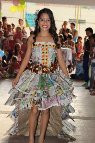 vestidos para nia con material reciclado apexwallpapers com vestidos de reciclaje para ni 241 a