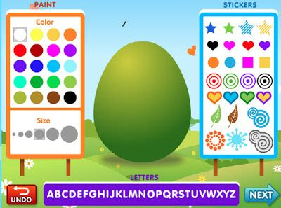 pattern games abcya english is fun 2 make an easter egg by abcya
