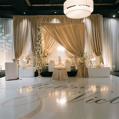 wedding backdrops toronto weddings wedding decor toronto a clingen wedding