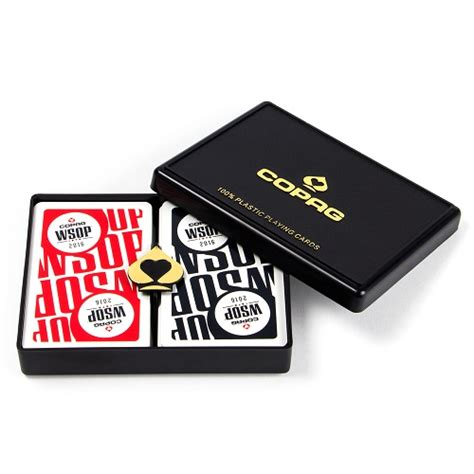 Main Event Gift Card - 2016 wsop main event copag playing cards gcop 1202 poker chip mania