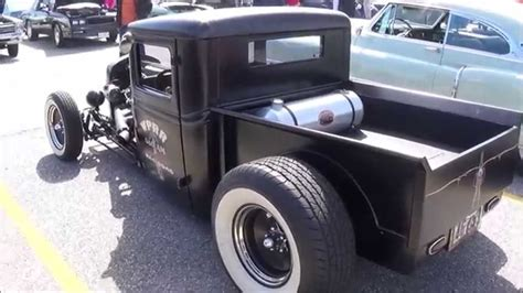 photos of hot rod trucks old school hot rod truck youtube
