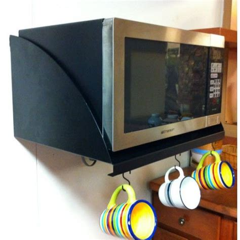 Now you can EASILY mount your microwave and get it off