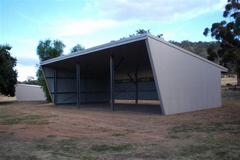 Garage With Shed Roof by Skillion Roof Sheds And Garages Ranbuild