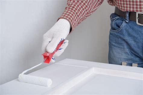 Préparation Murs Avant Peinture by Peindre Une Porte Et Encadrement Toute La Technique