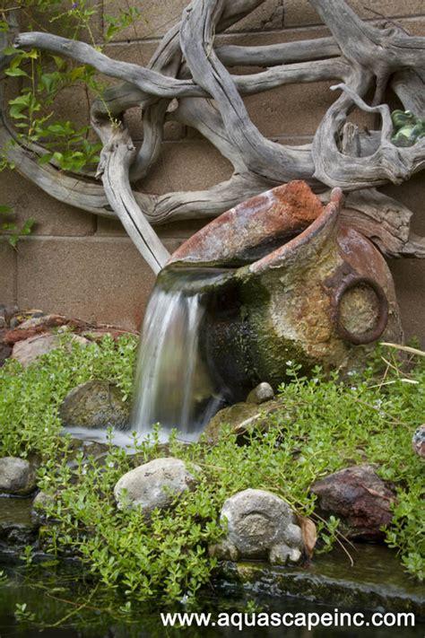unique backyard  garden fountains