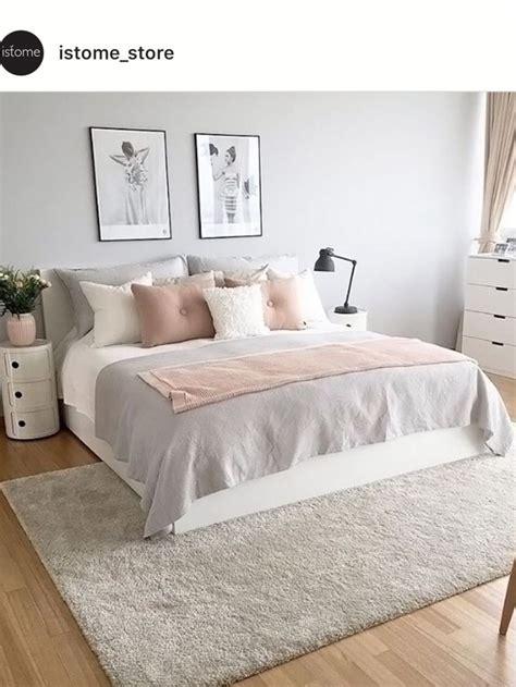 image result  blush  gray  top  bronze bed frame
