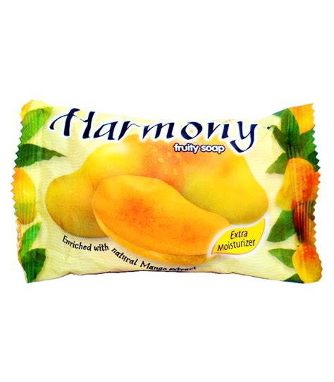 Harmony Fruity Soap Lemon 70g fruity soap harmony with mango extract 75g