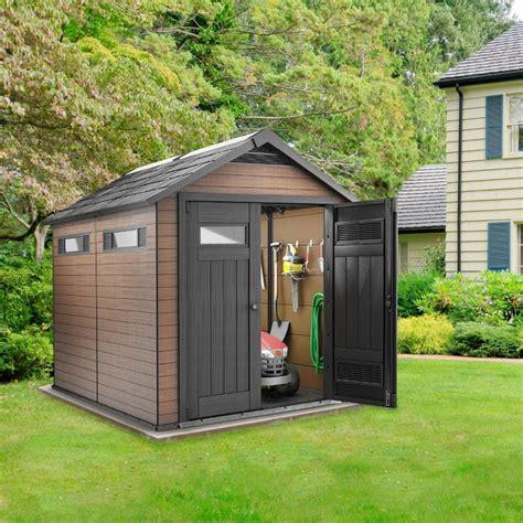abris de jardin avec plancher abri de jardin fusion en composite bois r 233 sine avec porte 6 57m 178 plancher keter