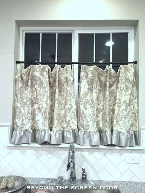 gray cafe curtains 269 best images about pretty pillows blankets curtains