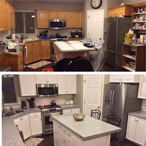 painting kitchen cabinets before after painting kitchen cabinets before and after smith design
